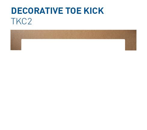 Custom Toe Kick TKC2 Specialty Components BelmontDoors.co