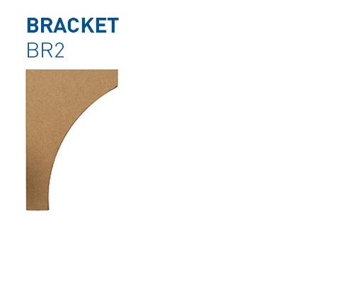 MDF-Custom-Kitchen-Brackets-BR2-BelmontDoors.com