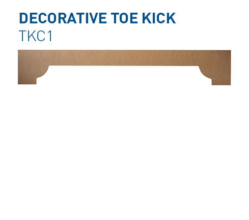 Custom Toe Kick TKC1 Specialty Components BelmontDoors.com
