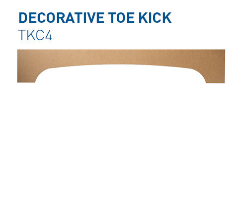 Custom Toe Kick TKC4 Specialty Components BelmontDoors.com