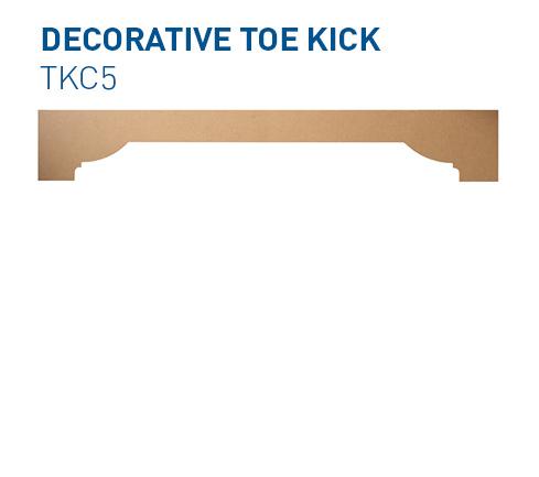 Custom Toe Kick TKC5 Specialty Components BelmontDoors.com