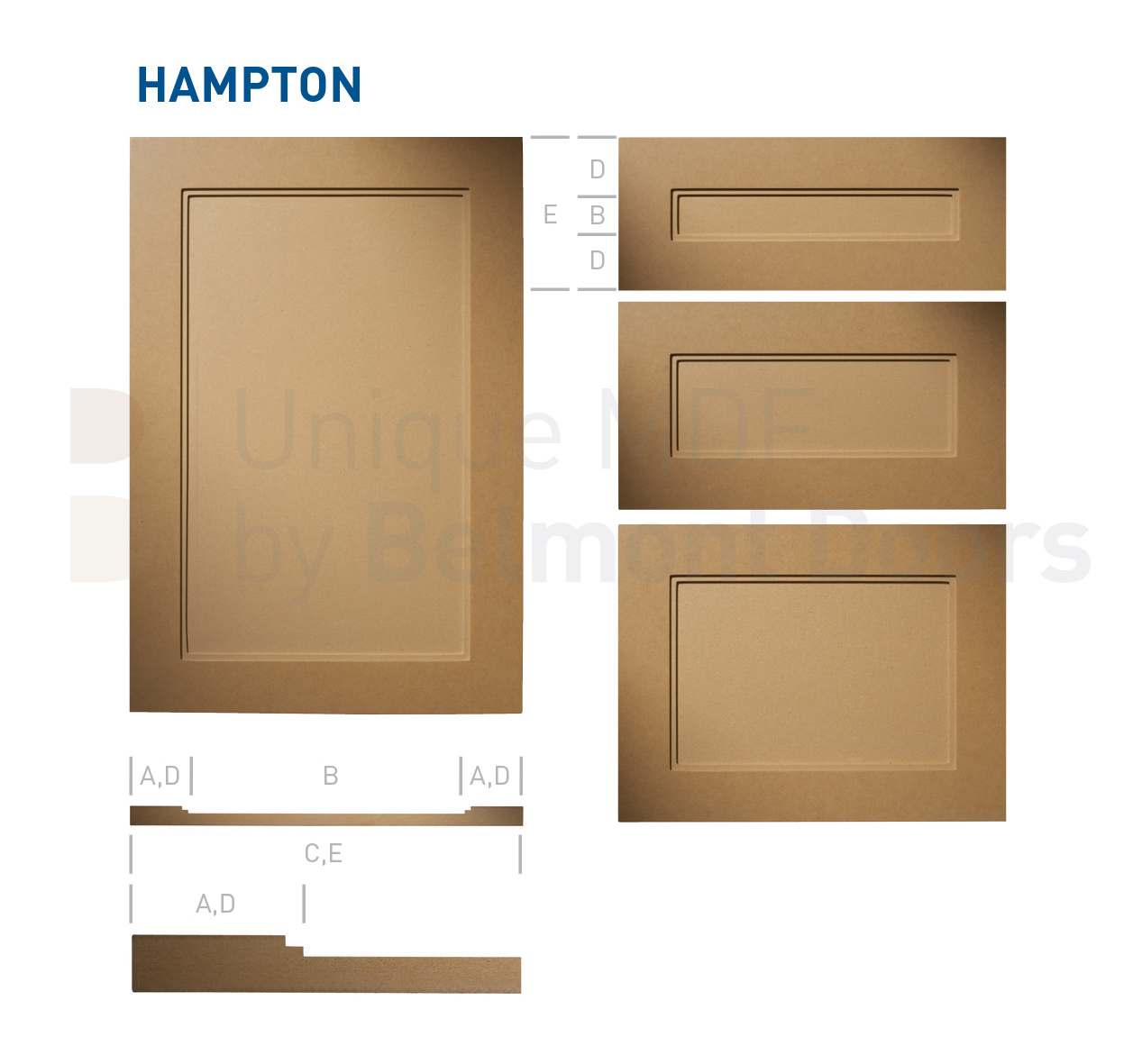 Hampton Shaker Kitchen Cabinet Door Style Mdf Set Mdf Kitchen Cabinet Doors And Drawers By Belmont Doors