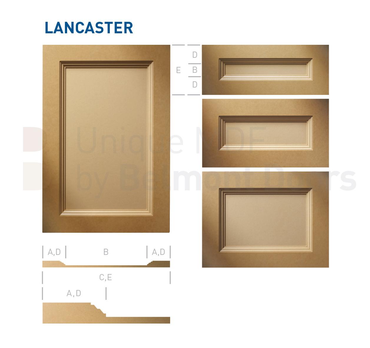 Kitchen Cabinet Door Styles Options: LANCASTER Collection (Transitional Kitchen Cabinet Door