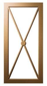 M-Cross Pattern-Mullion-Frame
