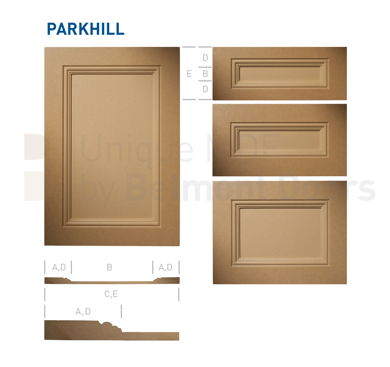 Parkhill-traditional-MDF-Doors-Flat Panel Kitchen Cabinet Doors Drawers by BelmontDoors.com-master-x1257