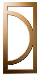 Q-Right-Contemporary-Modern-Circle-Crescent-Art Deco-Mullion-Frame